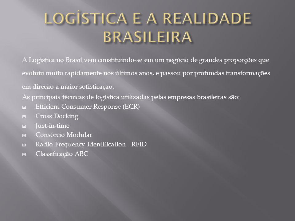 Ainda existem muitas barreiras para serem vencidas, em termos de logística o Brasil ainda esta engatinhando, porém muitas empresas já estão em busca de aprimorarem seus processos por meio da logística, vislumbrando-a como uma ferramenta que propiciará um diferencial competitivo.