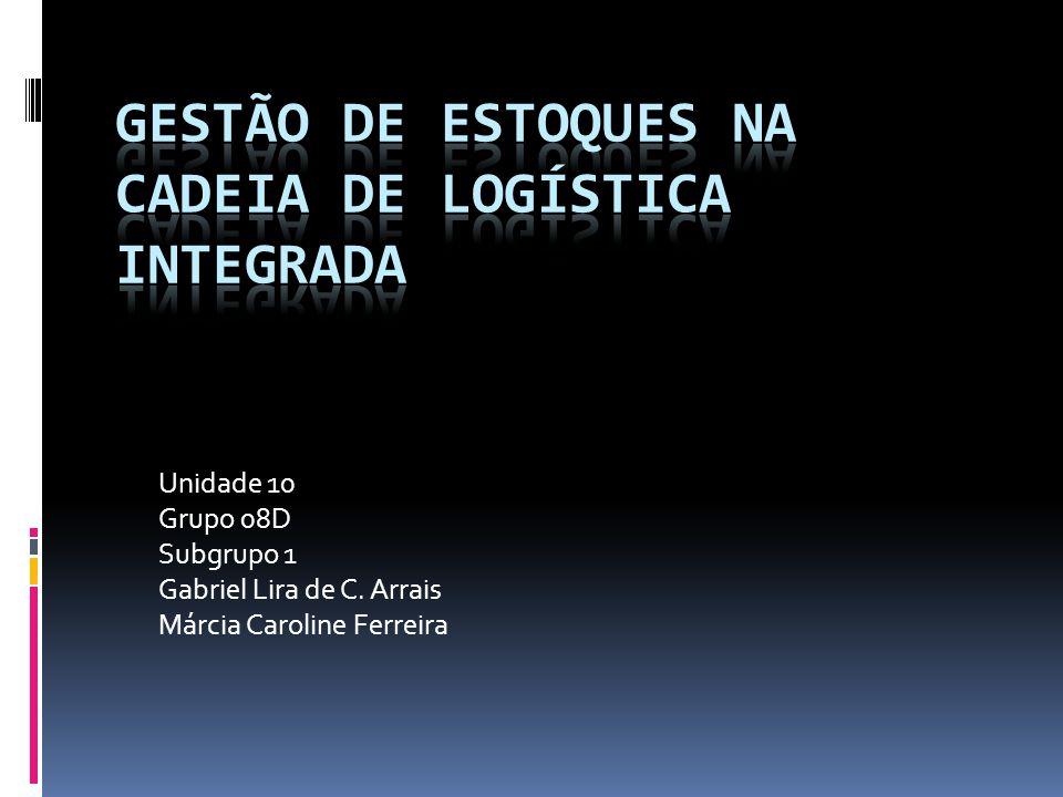 Unidade 10 Grupo 08D Subgrupo 1 Gabriel Lira de C. Arrais Márcia Caroline Ferreira