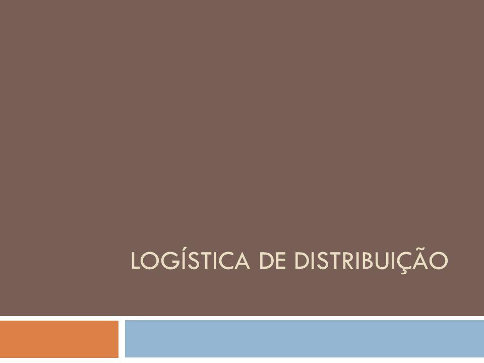 Novas demandas estão moldando padrões de distribuição, assim como: Serviço ao cliente: entrega com maior frequência, no tempo certo e serviço de maior valor agregado Custo: redução de custo Velocidade: integração da cadeia de logística
