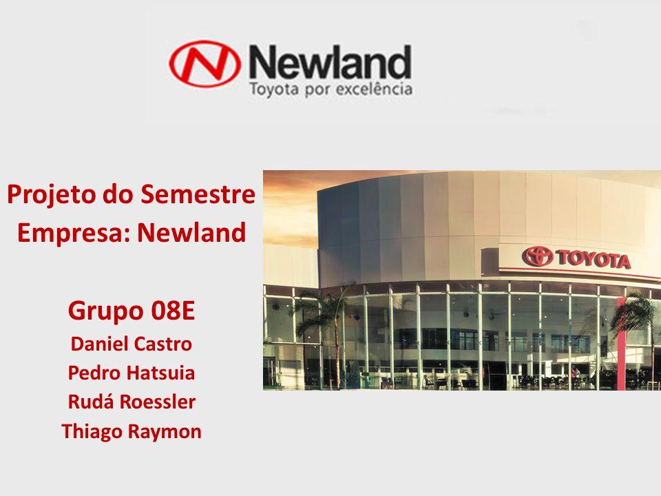 Projeto do Semestre Empresa: Newland Grupo 08E Daniel Castro Pedro Hatsuia Rudá Roessler Thiago Raymon