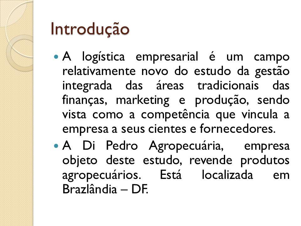 Introdução A logística empresarial é um campo relativamente novo do estudo da gestão integrada das áreas tradicionais das finanças, marketing e produção, sendo vista como a competência que vincula a empresa a seus cientes e fornecedores.