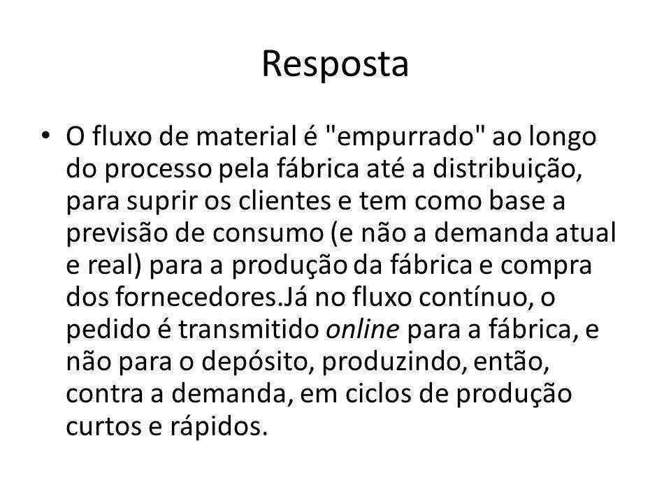 Diferencie logística de suprimento e logística de produção.