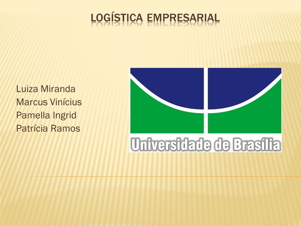 Luiza Miranda Marcus Vinícius Pamella Ingrid Patrícia Ramos