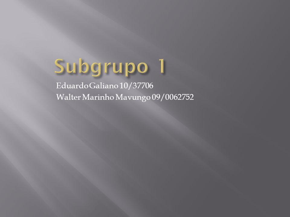 Eduardo Galiano 10/37706 Walter Marinho Mavungo 09/0062752