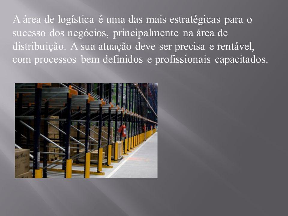 A área de logística é uma das mais estratégicas para o sucesso dos negócios, principalmente na área de distribuição. A sua atuação deve ser precisa e