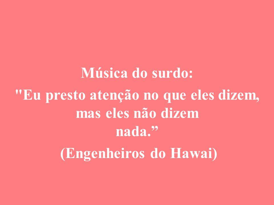 Música do surdo:
