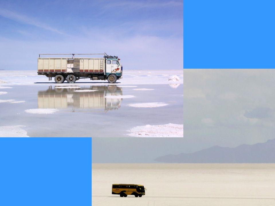 A cada ano, os trabalhadores das salinas extraem cerca de 25.000 toneladas de sal da Salina de Uyuni. Apenas um arranhão na superfície: os experts est