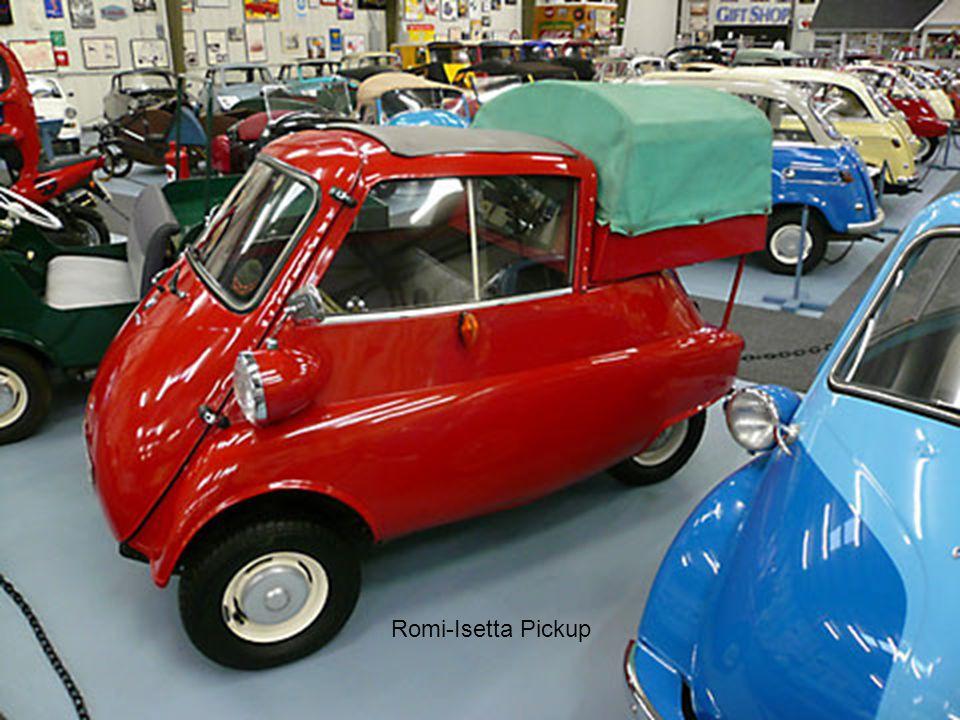 Romi-Isetta Pickup