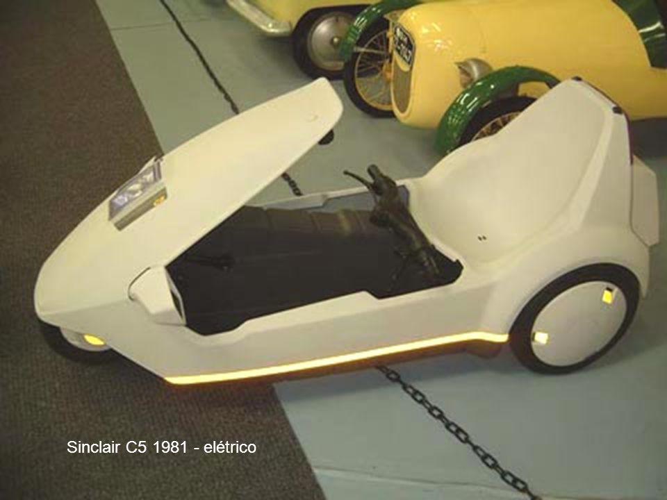 Sinclair C5 1981 - elétrico
