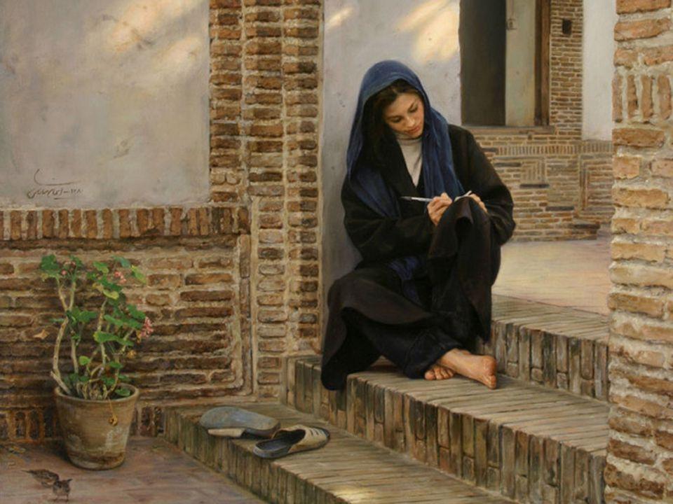 As suas pinturas mostram ao mundo a forte personalidade do povo iraniano...