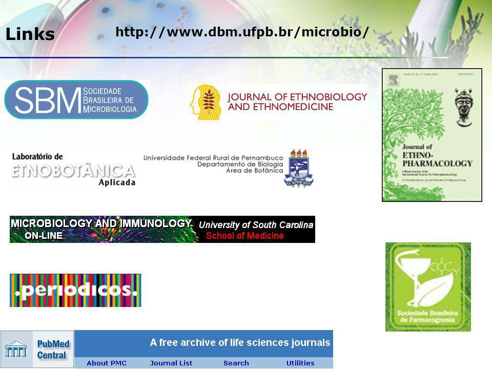 Links http://www.dbm.ufpb.br/microbio/