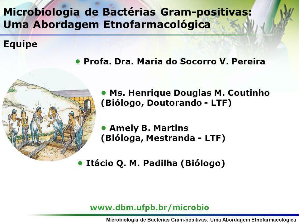 Microbiologia de Bactérias Gram-positivas: Uma Abordagem Etnofarmacológica Parte da PlantaClasse do Composto CompostoReferência Casca (região da planta especificada) Esteróides Terpenóide s CAMPESTEROL-3-O-β-D- GLUCOPIRANOSIL ESTIGMATEROL-3-O-c-D- GLUCOPIRANOSIL β-SISTEROL--3-O-β-D- GLUCOPIRANOSIL TRITERPENO MIMOSÍDEO A TRITERPENO MIMOSÍDEO B TRITERPENO MIMOSÍDEO C SAPONINAS TRITERPÊNICAS (ANTON et al,1993) (JIANG et al, 1991) (JIANG et al, 1992) (MECKES-LOZOYA, 1990b) Casca do tronco Alcalóide Indólico 5-HIDROXI-TRIPTAMINA N,N-DIMETILTRIPTAMINA (MECKES-LOZOYA, 1990a) Casca da Raíz Extração com CH2CL2- hexano-MeOH e fração de hexano-Me2CO ChalconasN,N-DIMETILTRIPTAMINA KUKULKANO A : (2,4-dihidroxi- 3,4dimetoxichalcona) KUKULKANO B: (2,4,4-trihidroxi- 3metoxichalcona) (DOMÍNGUEZ, 1989 et al apud CAMARGO-RICALDE, 2000) Casca pulverizada Tanino Flavonóides (MECKES-LOZOYA, 1990b) (CAMARGO- RICALDE, 2000) (MECKES-LOZOYA, 1990b) Compostos químicos isolados de M.
