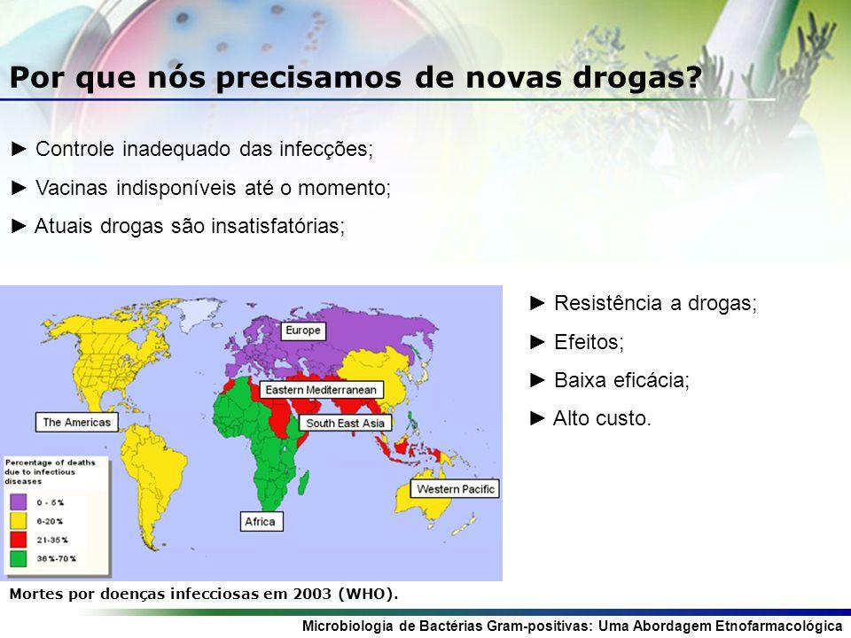 Microbiologia de Bactérias Gram-positivas: Uma Abordagem Etnofarmacológica Por que nós precisamos de novas drogas.
