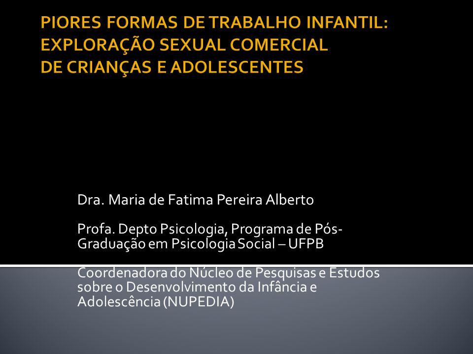Dra.Maria de Fatima Pereira Alberto Profa.
