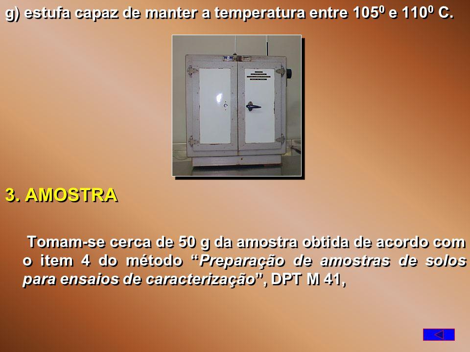 e) recipiente que permita guardar amostras sem perda de umidade antes de sua pesagem; f) balança com capacidade de 200 g, sensível a 0,01 g; e) recipiente que permita guardar amostras sem perda de umidade antes de sua pesagem; f) balança com capacidade de 200 g, sensível a 0,01 g;