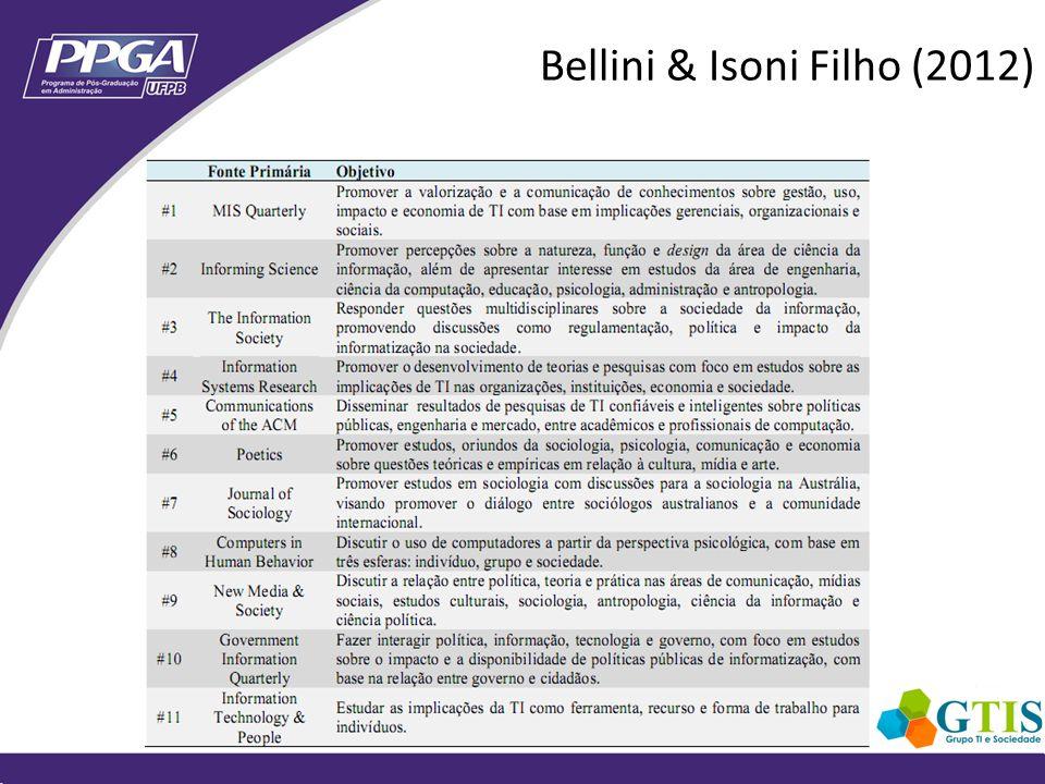 Bellini & Isoni Filho (2012)