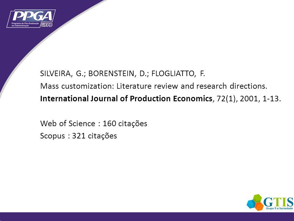 2005: ensaio teórico de tese 2006: capítulo da tese 2006: saga IJSEKE SLR Kitchenham 2007: Moreno et al.