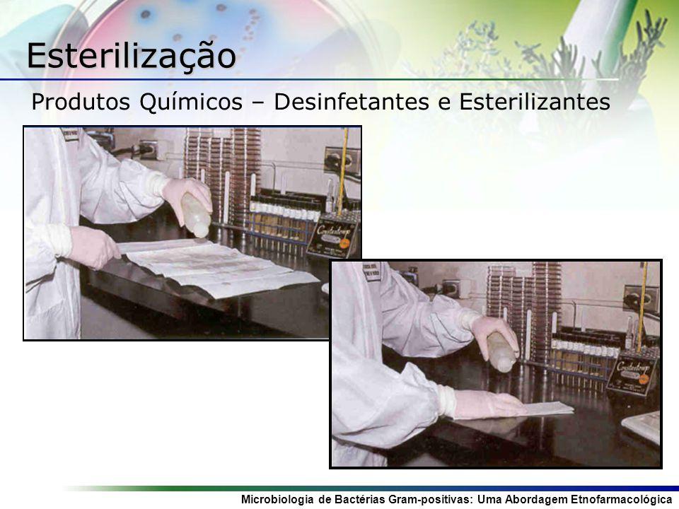 Microbiologia de Bactérias Gram-positivas: Uma Abordagem Etnofarmacológica Esterilização Produtos Químicos – Desinfetantes e Esterilizantes
