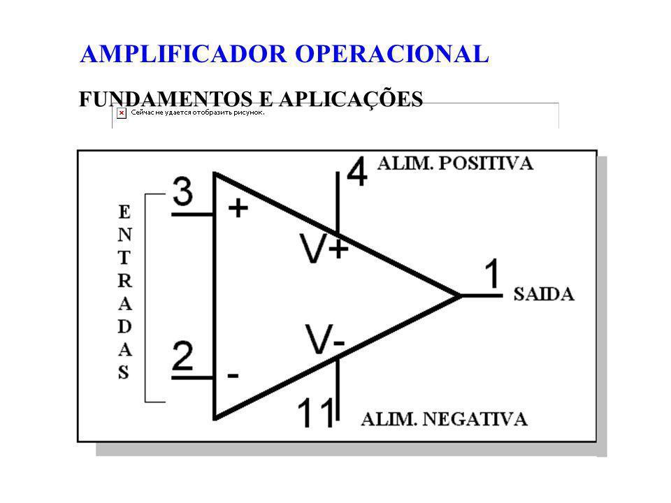 FUNDAMENTOS E APLICAÇÕES AMPLIFICADOR OPERACIONAL