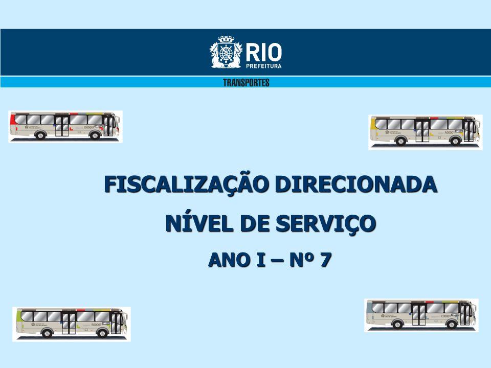 FISCALIZAÇÃO DIRECIONADA NÍVEL DE SERVIÇO ANO I – Nº 7