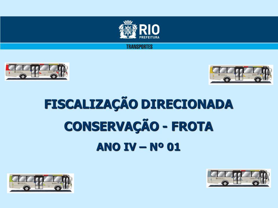 FISCALIZAÇÃO DIRECIONADA CONSERVAÇÃO - FROTA ANO IV – Nº 01