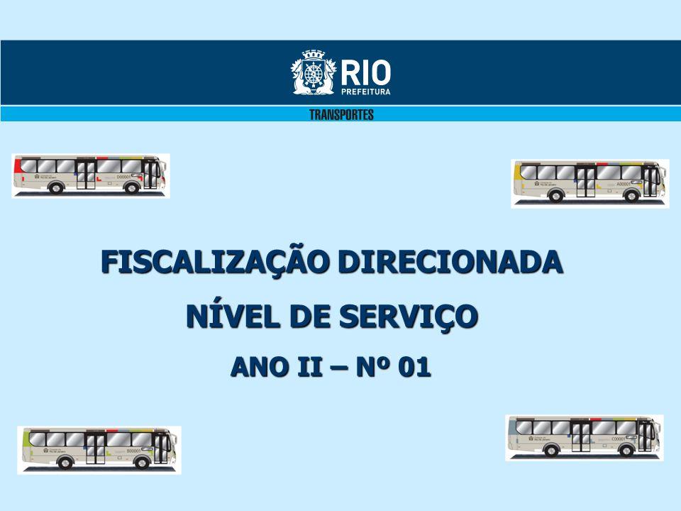 FISCALIZAÇÃO DIRECIONADA NÍVEL DE SERVIÇO ANO II – Nº 01