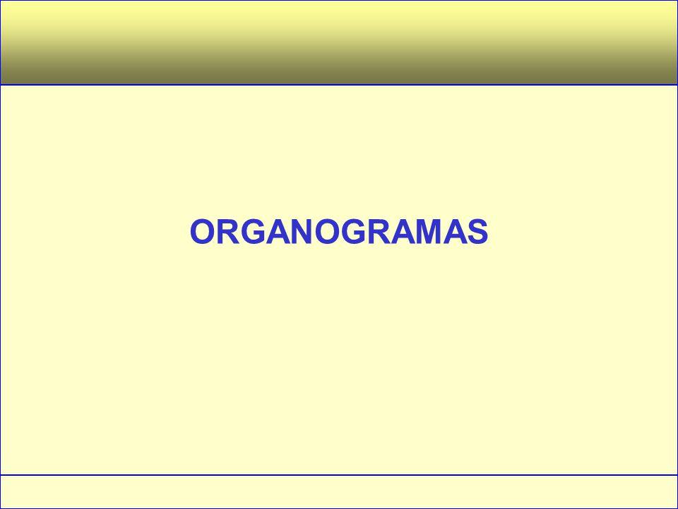 Administração – Princípios e Tendências – Francisco Lacombe – Editora Saraiva ORGANOGRAMA É a representação gráfica simplificada da estrutura organizacional de uma instituição, especificando os seus órgãos, seus níveis hierárquicos e as principais relações formais entre eles.