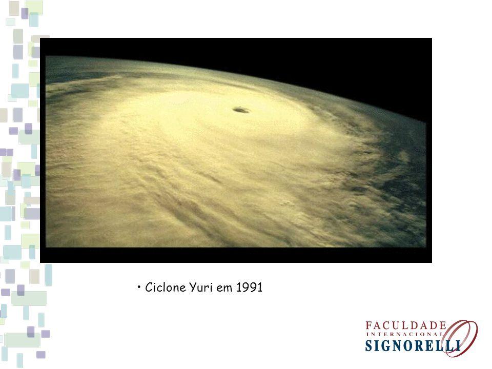 Ciclone Yuri em 1991