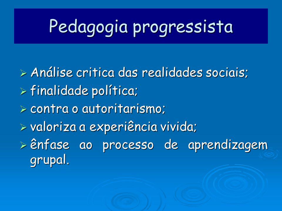 Análise critica das realidades sociais; Análise critica das realidades sociais; finalidade política; finalidade política; contra o autoritarismo; cont