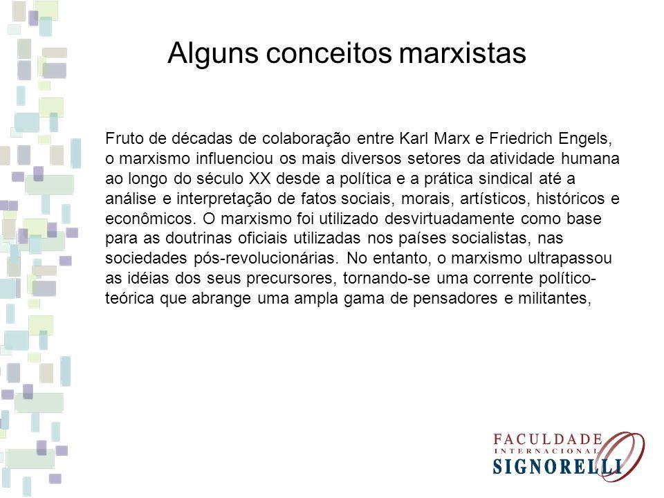 Fruto de décadas de colaboração entre Karl Marx e Friedrich Engels, o marxismo influenciou os mais diversos setores da atividade humana ao longo do sé
