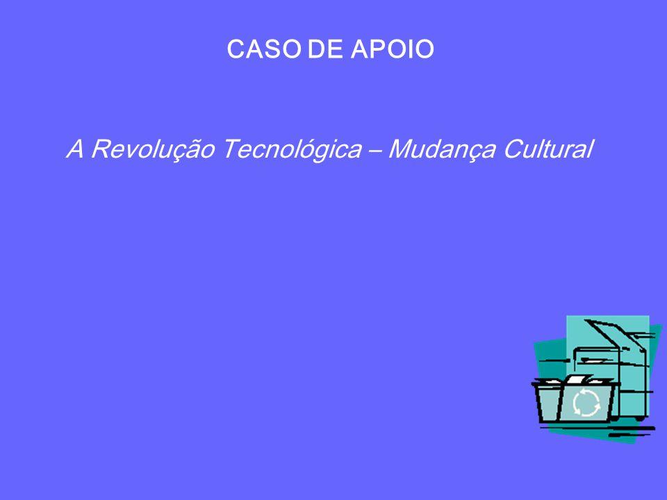 CASO DE APOIO A Revolução Tecnológica – Mudança Cultural