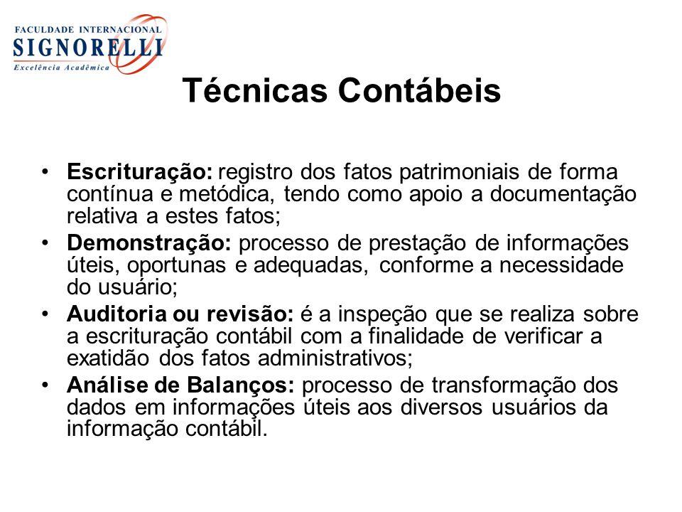 Princípios de Contabilidade São os preceitos fundamentais em que se baseiam a doutrina e a técnica contábil.