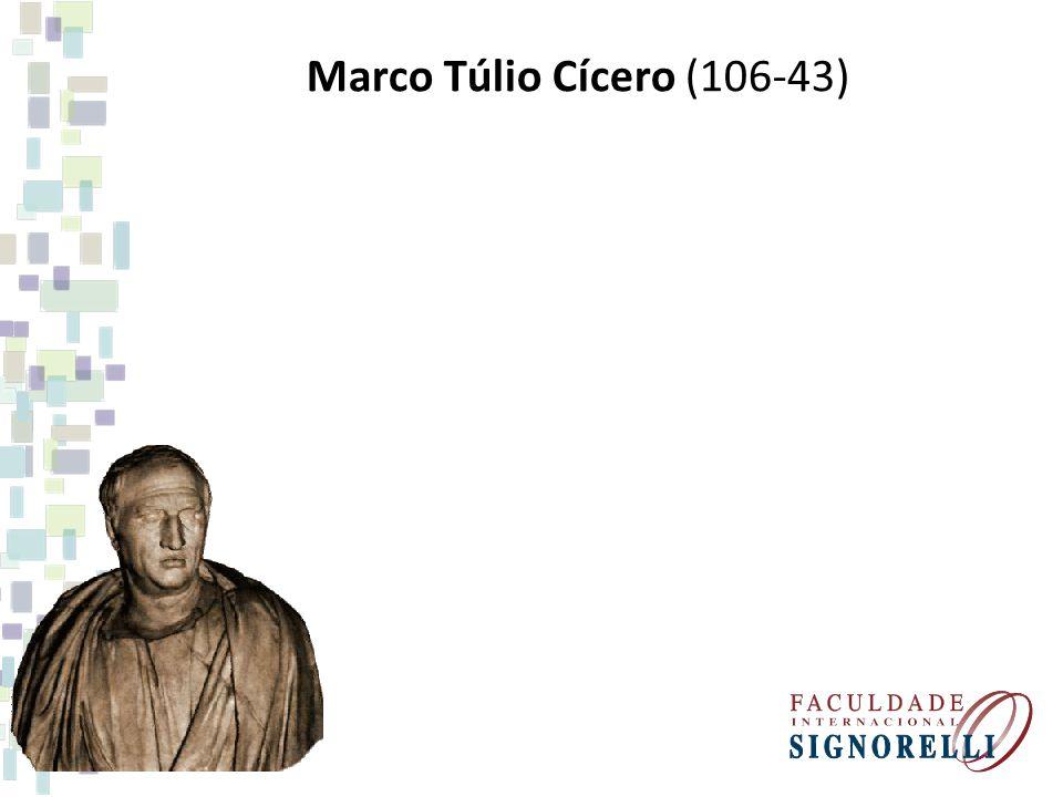 Marco Túlio Cícero (106-43)