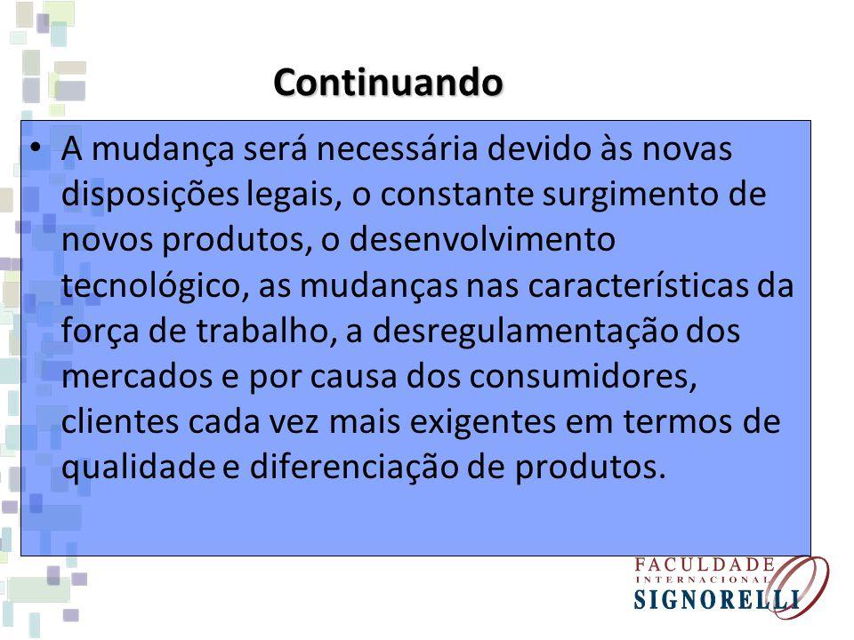 Segundo Zabot e da Silva, a natureza instrumental das organizações permanece, assim como a eliminação de empregos, mas reafirma-se a chave da produtividade – o conhecimento.