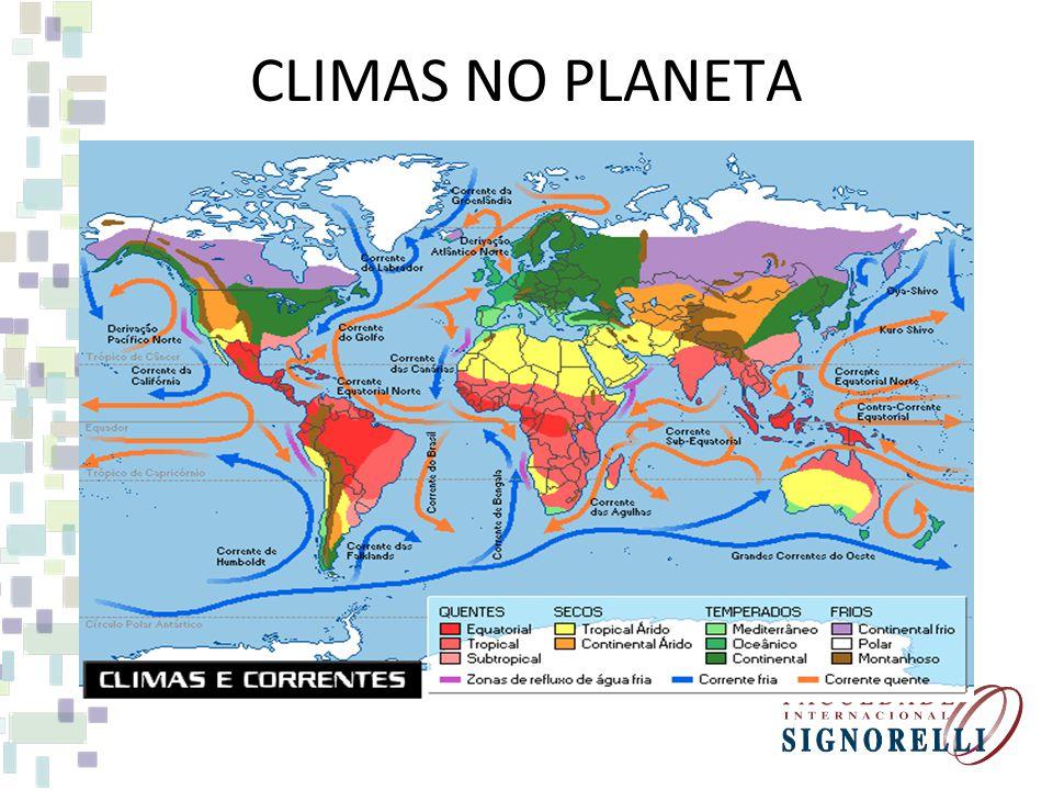 CLIMAS NO PLANETA