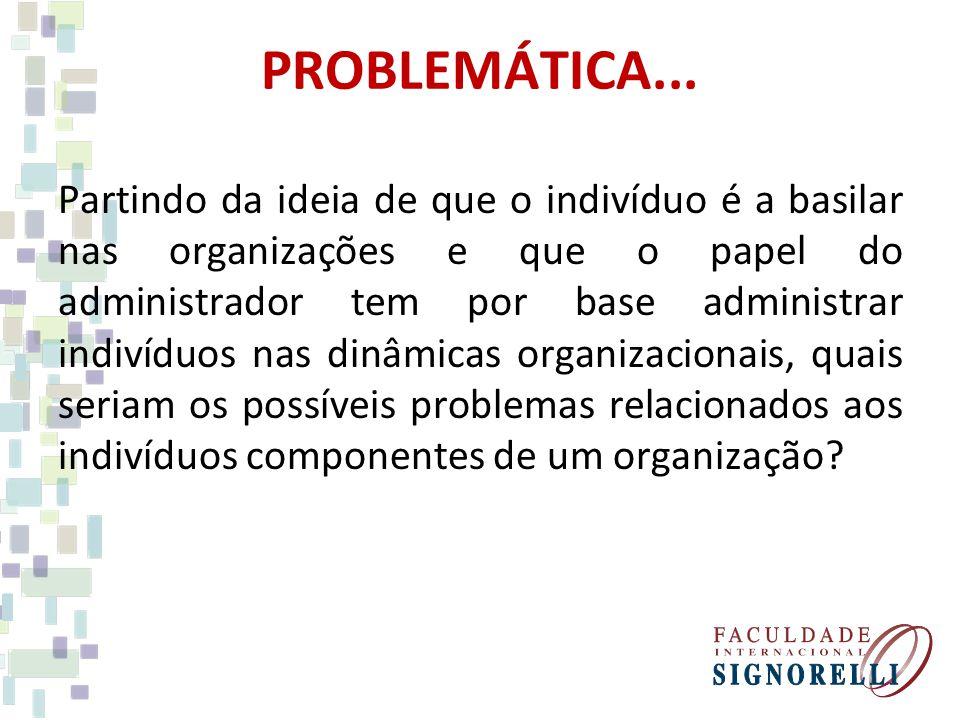 PROBLEMÁTICA...