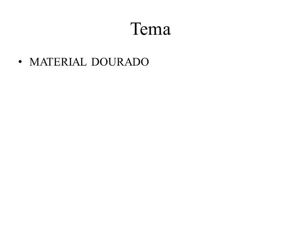 Tema MATERIAL DOURADO