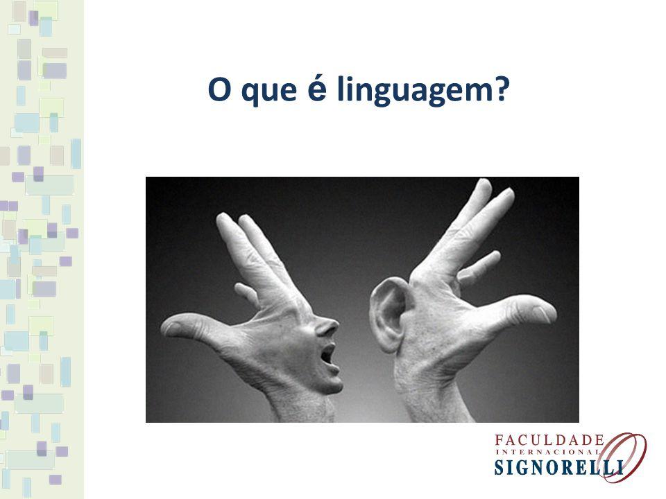 É o uso da língua como forma de expressão e comunicação entre as pessoas.