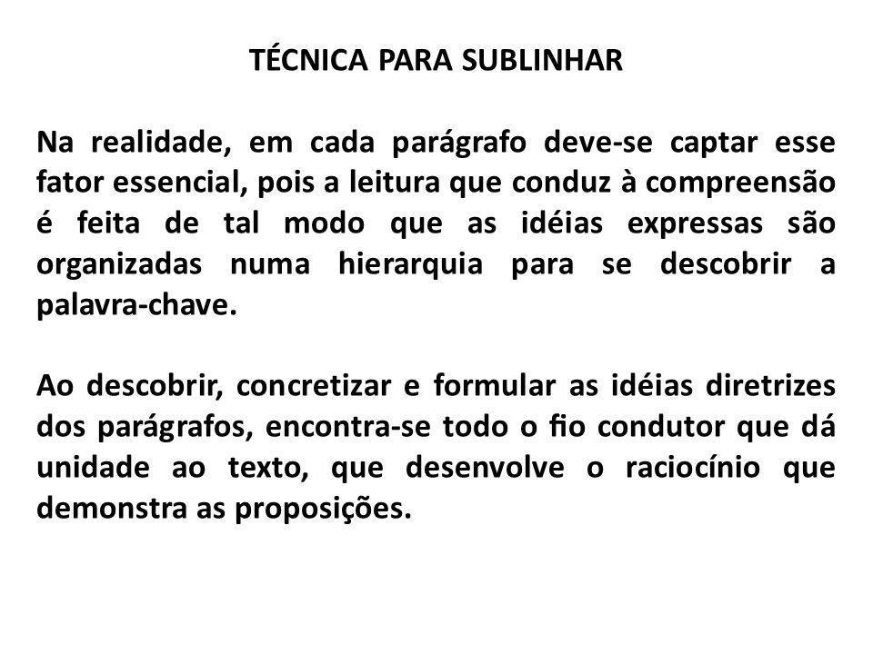 TÉCNICA PARA FICHAR FICHAS Composição/Estrutura das Fichas referência bibliográca - deve sempre seguir normas da ABNT – Associação Brasileira de Normas Técnicas.