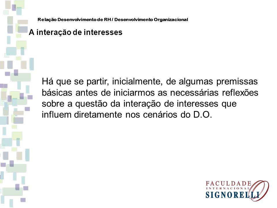 Há que se partir, inicialmente, de algumas premissas básicas antes de iniciarmos as necessárias reflexões sobre a questão da interação de interesses q