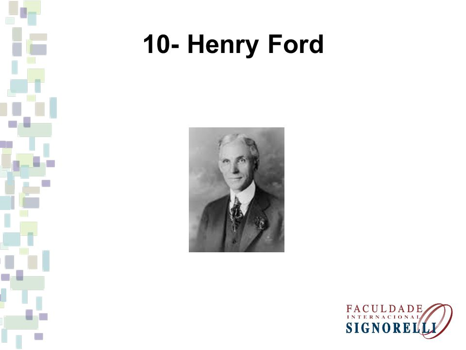 10- Henry Ford