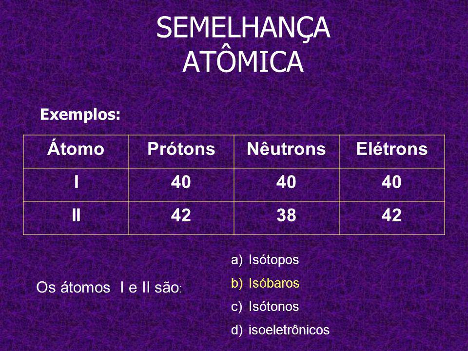 x A y x+1 B y x+2 C 22 SEMELHANÇA ATÔMICA 40 A y x+1 B y x+2 C 22