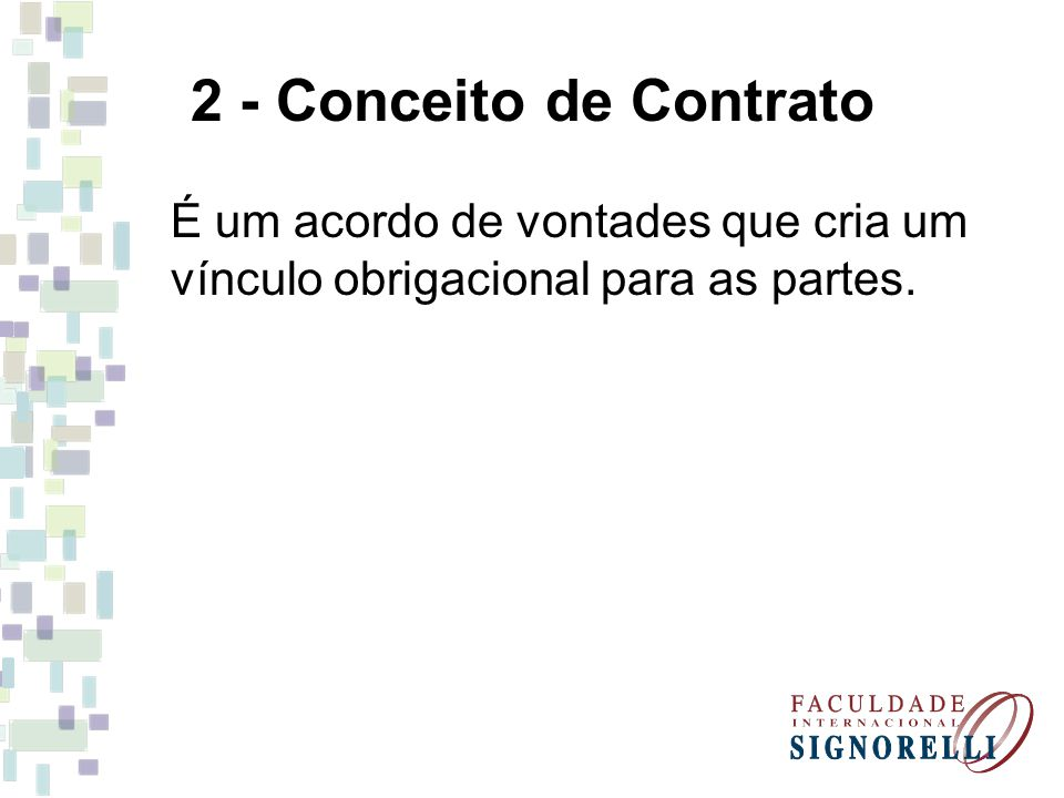 11.7 - Contrato de Transporte É aquele em que um empresário (transportador) se obriga perante outrem (remetente) a transportar de um lugar para outro, coisa móvel ou pessoa, mediante pagamento.