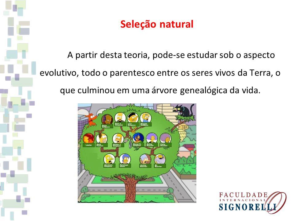 A partir desta teoria, pode-se estudar sob o aspecto evolutivo, todo o parentesco entre os seres vivos da Terra, o que culminou em uma árvore genealóg