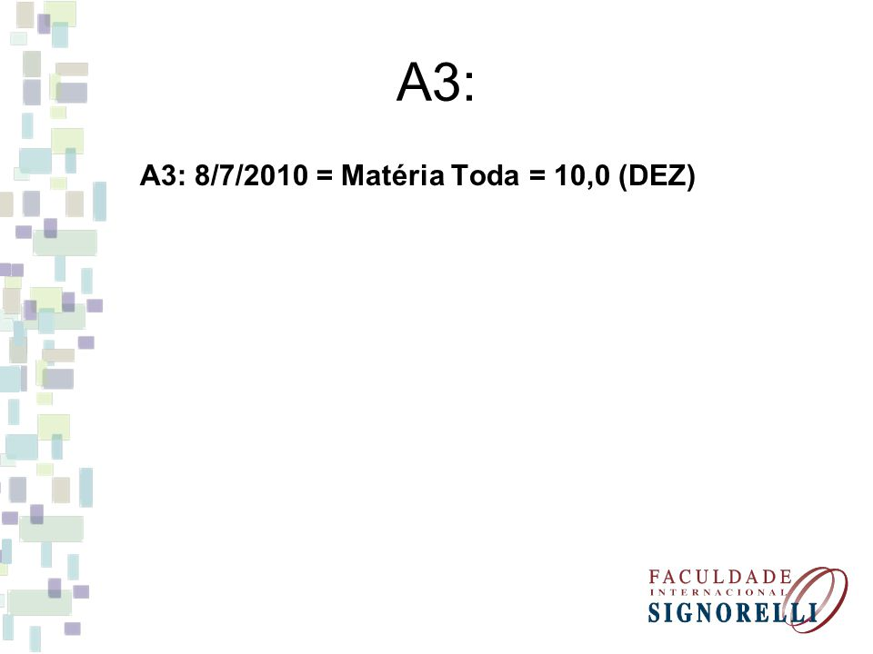 Trabalhos: Apresentação Oral: Contratos Mercantis (Dias 8/4 e 15/4) Trabalho Escrito: Contratos Mercantis (Entregar no dia da A2)