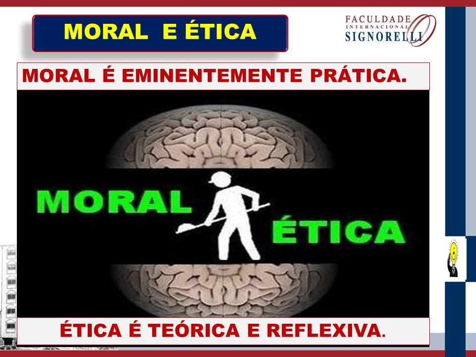 A confusão que acontece entre as palavras Moral e Ética existem há muitos séculos.