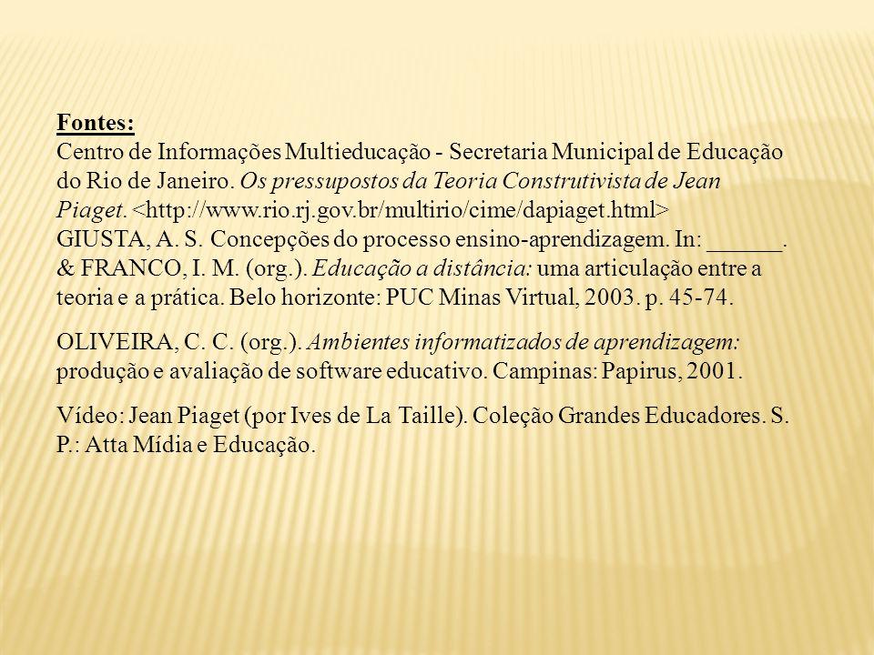 Fontes: Centro de Informações Multieducação - Secretaria Municipal de Educação do Rio de Janeiro.