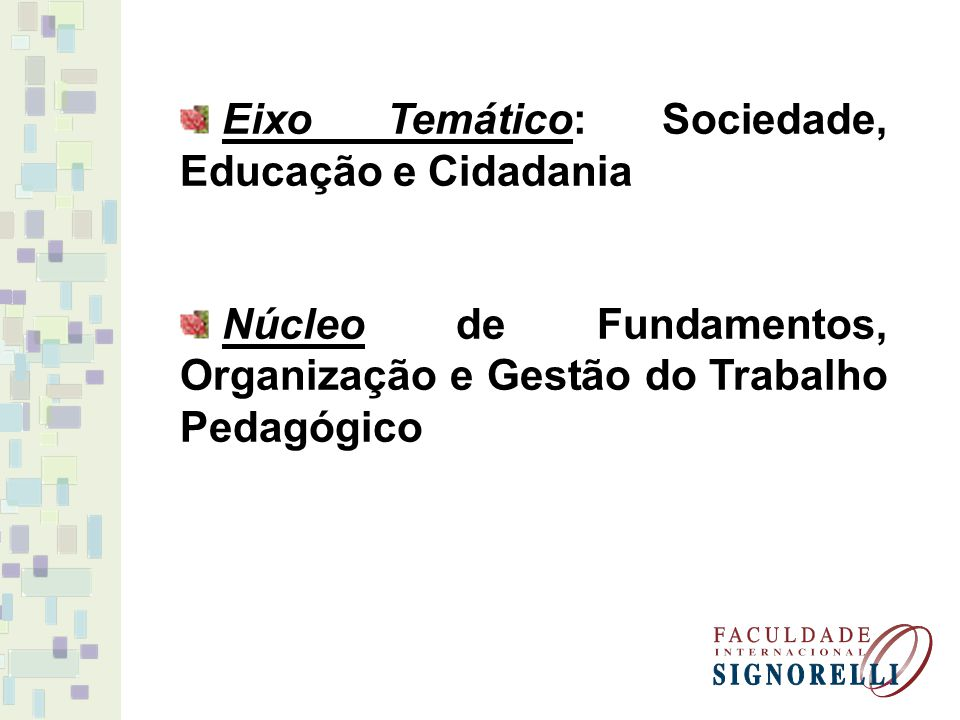 Tema: Paradigmas teóricos clássico e contemporâneos e suas influências na prática educativa Conteúdo: - Émile Durkheim e os Fatos Sociais; Mannheim e a Educação como técnica social; Karl Marx: Sociedade, Contradição e Emancipação