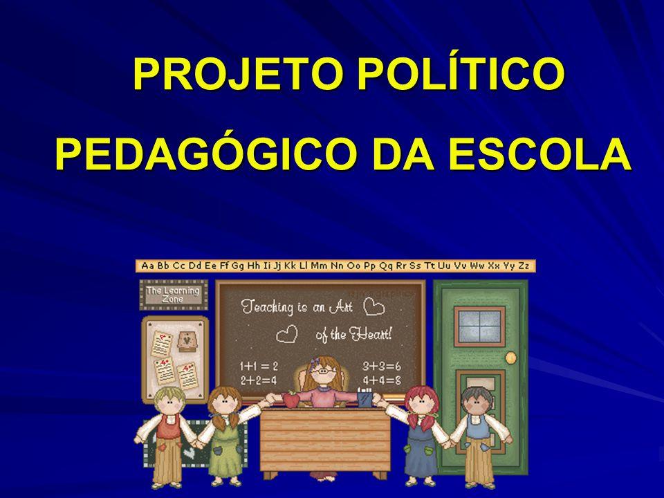 PROJETO POLÍTICO PEDAGÓGICO DA ESCOLA PROJETO POLÍTICO PEDAGÓGICO DA ESCOLA