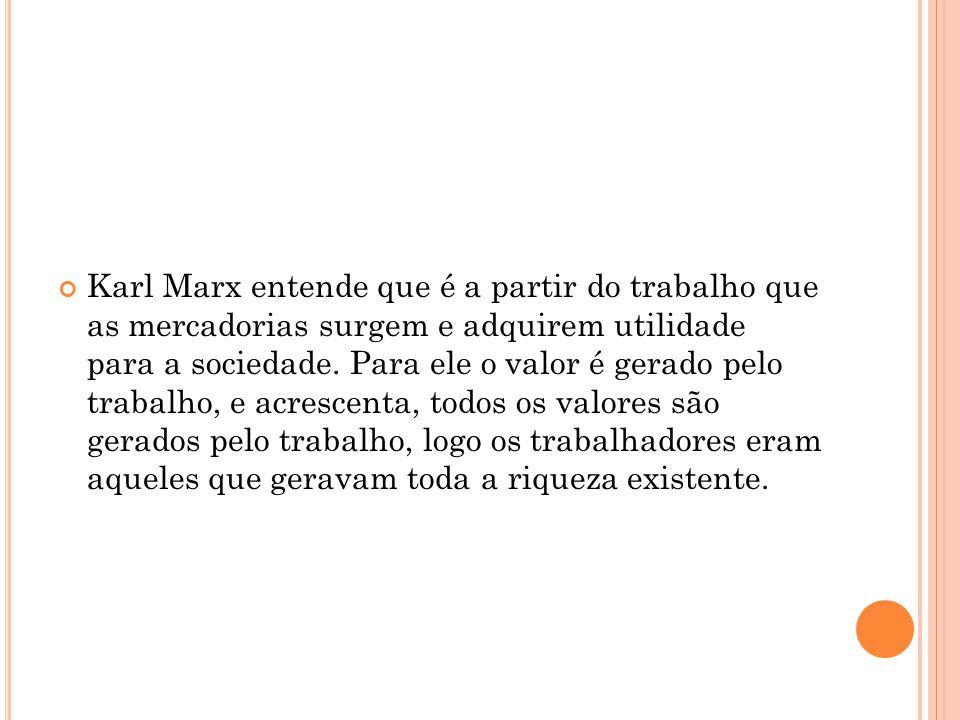 F RASES LITERAIS DE MARX Valor.Reduzido pura e simplesmente à quantidade de trabalho.